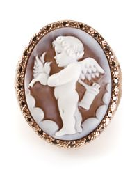 Amedeo | Metallic Cupid Sardonyx Ring | Lyst