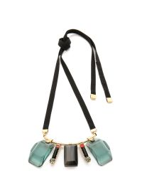 Marni Green Resin Necklace