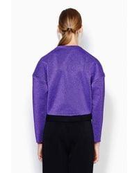 3.1 Phillip Lim - Purple Poet Sweatshirt - Lyst