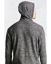 True Religion | Black Marled Colorblock Mens Hoodie for Men | Lyst