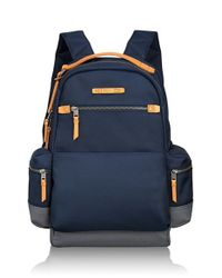 Tumi | Blue 'dalston - Massie' Backpack for Men | Lyst