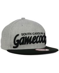 KTZ Gray South Carolina Gamecocks Script It 9fifty Snapback Cap