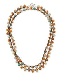 An Old Soul | Metallic Multi-bead Necklace | Lyst