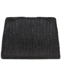 Nina Black Haze Clutch