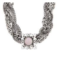 Henri Bendel | Pink Nolita Brooch Collar | Lyst