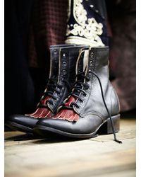 Free People | Black Brimfield Boot | Lyst