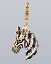 Jay Strongwater - Multicolor Bruce Zebra Charm - Lyst
