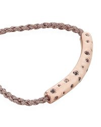 Monica Vinader | Pink Esencia Scatter Friendship Bracelet | Lyst