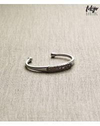 Tokyo Darling | Metallic Studded Cuff Bracelet | Lyst