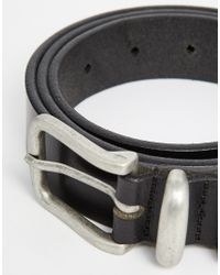 Jack & Jones | Black Scandi Leather Belt for Men | Lyst