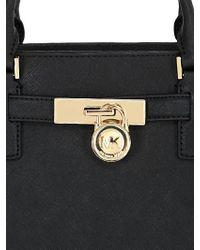 MICHAEL Michael Kors | Black Hamilton Saffiano Leather Tote Bag | Lyst