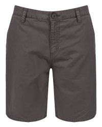 Bench - Gray Gearsub Cotton Shorts for Men - Lyst