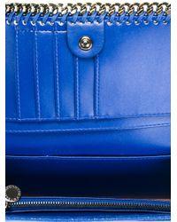 Stella McCartney Blue Falabella Wallet