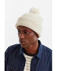 Urban Outfitters | Natural Uo Pom Beanie for Men | Lyst