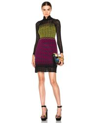 M Missoni - Multicolor Gradient Fan Dress - Lyst