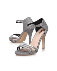Miss Kg Metallic Sabrina High Heeled Court Shoes