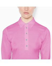 Ralph Lauren Golf - Pink Tailored Golf-Fit Polo Shirt - Lyst