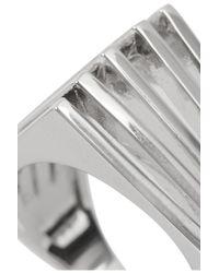 Noir Jewelry Metallic Silver-Tone Ring
