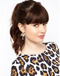 ASOS - Multicolor Leapfrog Earrings - Lyst