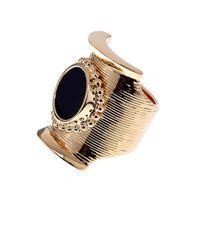 Chloé Black Djill Onyx Ring
