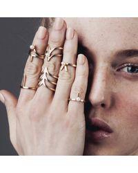 Smith/grey - Metallic Ella Ring Silver - Lyst