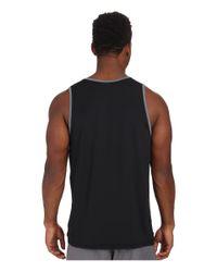 Rip Curl | Black Chest Stripe Tank Top for Men | Lyst