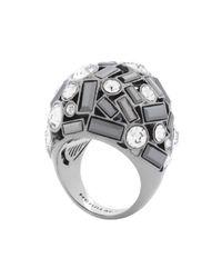 Henri Bendel - Gray Nolita Crystal Deb Ring - Lyst
