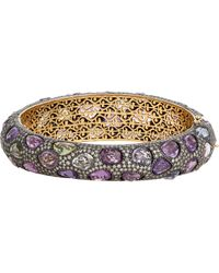 Munnu | Metallic Hinged Bangle | Lyst