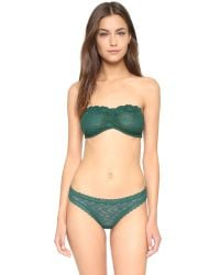 Free People | Green Dreams Do Come True Thong - Plum | Lyst