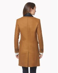 Veronica Beard - Brown Chesterfield Dickey Coat - Lyst