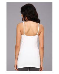 Lyssé - White Cotton Skinny Cami - Lyst