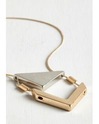 Ana Accessories Inc | Metallic Two The Point Necklace | Lyst