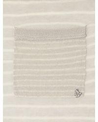 White Stuff Gray Striped Cardigan