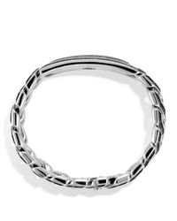 David Yurman | Metallic Meteorite Curb Chain Id Bracelet for Men | Lyst