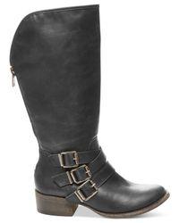 Madden Girl - Black Dakotaaa Western Mid Boots - Lyst