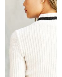 BDG - Multicolor Charlie Mock-neck Fitted Sweater - Lyst