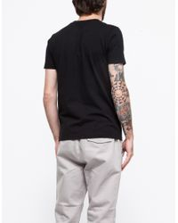 Han Kjobenhavn - Black Artwork Tee for Men - Lyst