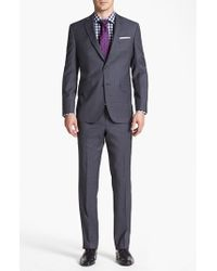 Ted Baker - Gray 'jones' Trim Fit Wool Suit for Men - Lyst