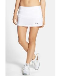 Nike | Black Colorblock Tennis Skirt | Lyst
