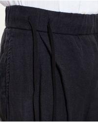 The Viridi-anne - Black Cotton Joggers for Men - Lyst