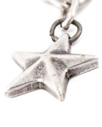 DIESEL | Gray Star Pendant Necklace for Men | Lyst