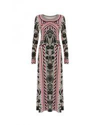 Temperley London - Red Long Tishka Jersey Dress - Lyst