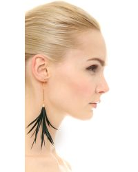 Fiona Paxton - Black Iona Earrings - Lyst
