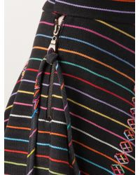 The Elder Statesman Black Vintage Denim Skirt
