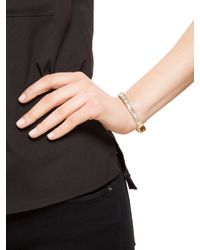BaubleBar - Gray Crystal Baguette Bangle - Lyst