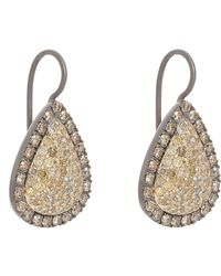 Roberto Marroni | Metallic Yellow Diamond, Brown Diamond & Oxidized Gold | Lyst