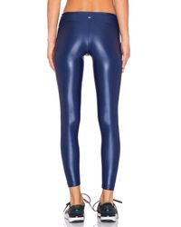 Koral Activewear - Blue Lustrous Legging - Lyst