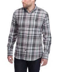 Henri Lloyd | Gray Regular Shirt for Men | Lyst