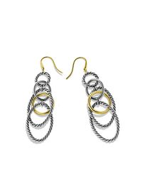 David Yurman | Metallic Mobile Chain Earrings | Lyst