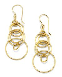 Ippolita - Metallic 18k Diamond Mini Jet-set Earrings - Lyst